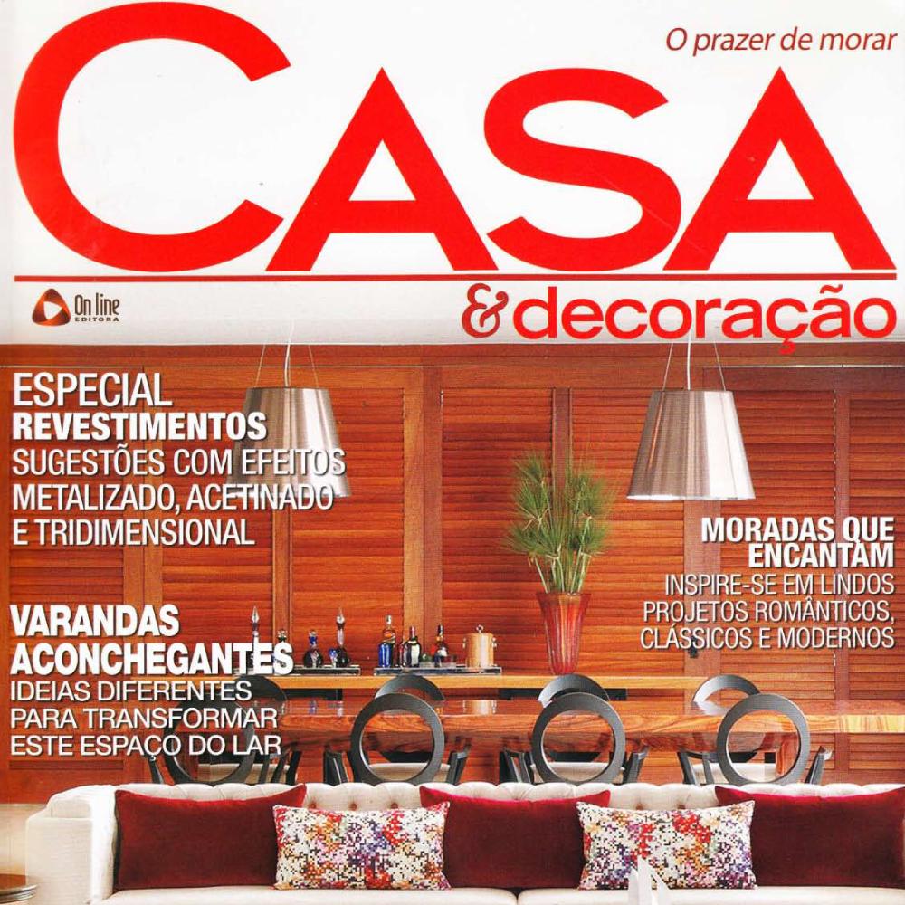 Revestimento Floratto Beige na revista Casa & Decoração