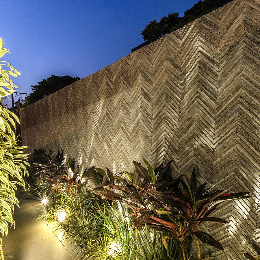Área funcional da CasaCor Ribeirão Preto 2019 ganha charme e beleza com revestimento Bellini, de Nina Martinelli