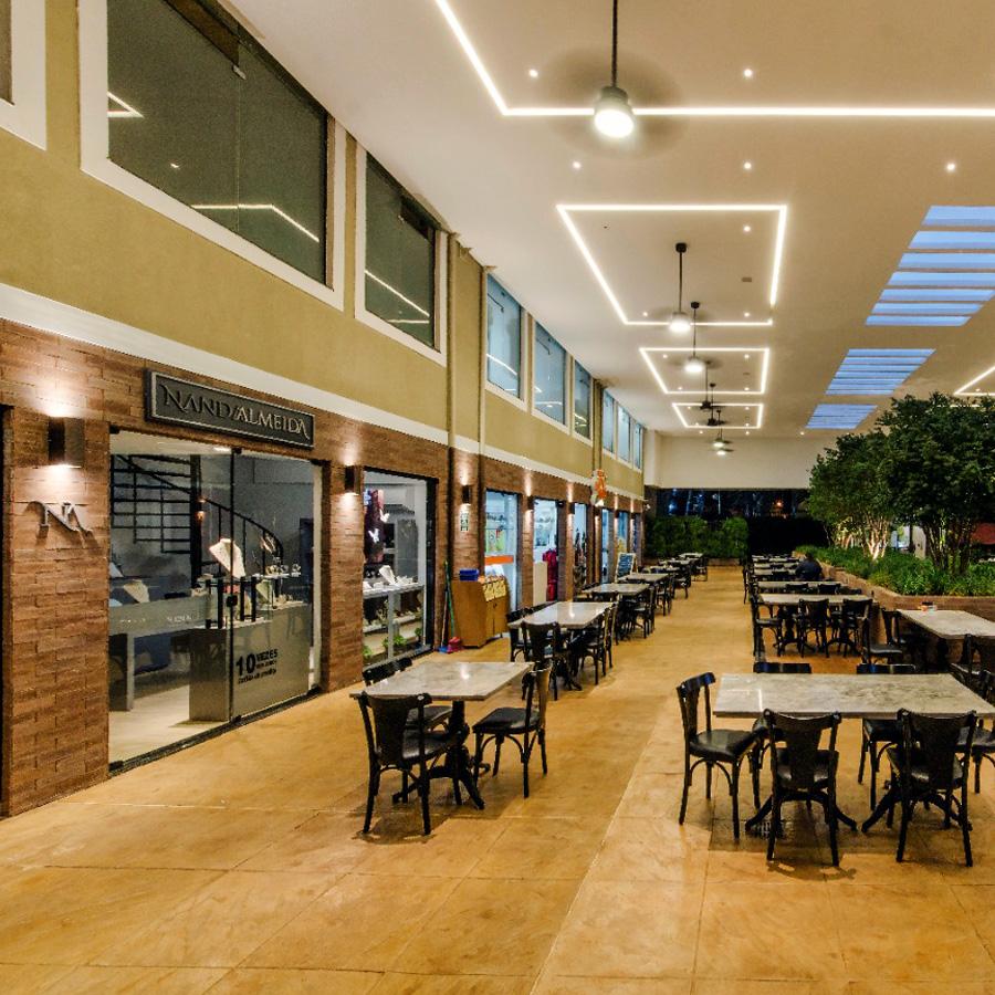 Fiusa Center, em Ribeirão Preto, de cara nova com o brick Fendi